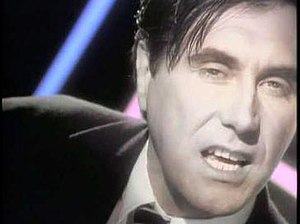 Kiss and Tell (Bryan Ferry song) - Bryan Ferry in the music video