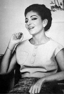 Maria Callas in a casual moment, 1960s