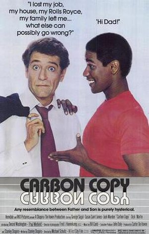 Carbon Copy (film) - Theatrical release poster