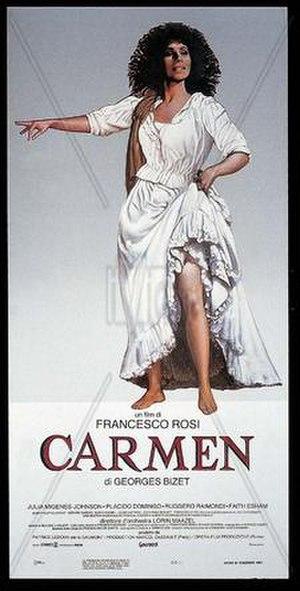 Carmen (1984 film) - Image: Carmen rosi poster