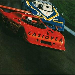Casiopea (album) - Image: Casiopea Self Title Album Cover