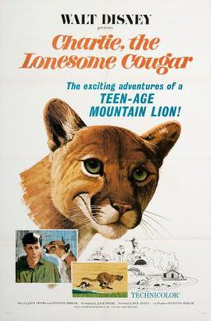 Charlie, the Lonesome Cougar - Theatrical release poster