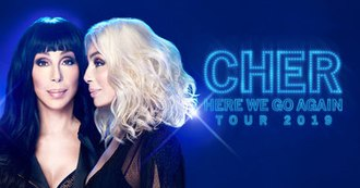 Here We Go Again Tour - Promotional poster for the tour