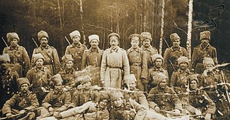 Baikal Cossacks - The Chita Cossack Regiment of the  Transbaikal Host at the front during 1914-17