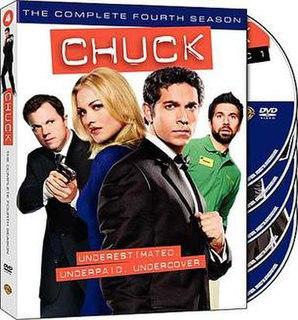 <i>Chuck</i> (season 4) season of television series