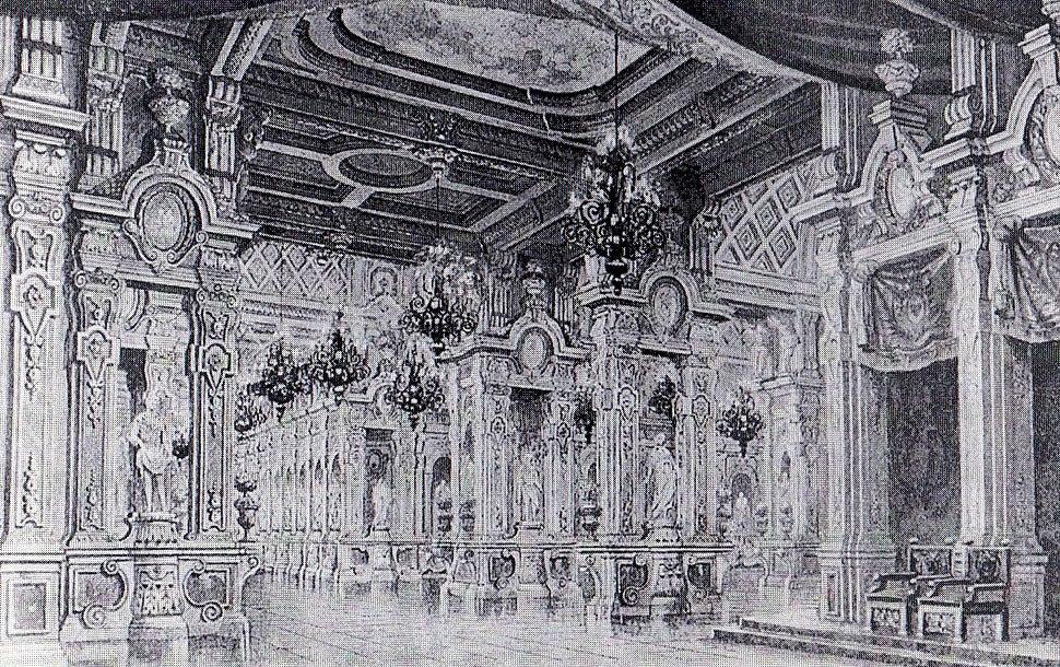 Cinderella -Set Design -Matvey Shishkov1893