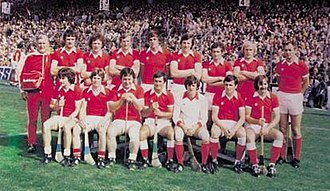 Cork GAA - The Cork hurling team that captured a third All-Ireland title in-a-row in 1978.