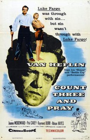 Count Three and Pray (film) - Image: Count Three and Pray One Sheet