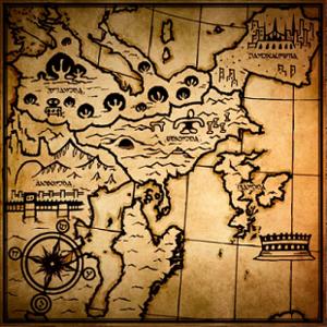 Drakengard - Image: DOD3 Midgard Map