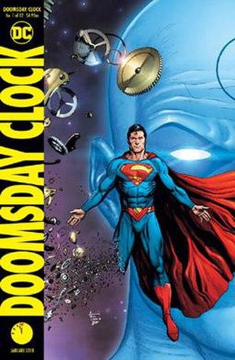 Doomsday Clock (comics) - Image: Dooomsday clock 01variant