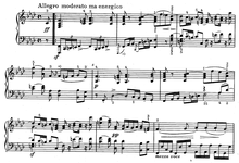 The opening of Dussek's Grand Sonata in F minor, Op. 77. Play (help·info) (Source: Wikimedia)