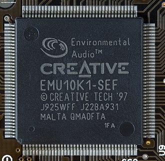 Sound Blaster Live! - EMU10K1 Digital Signal Processor