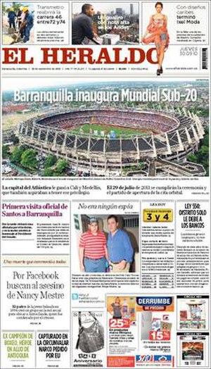 El Heraldo (Colombia) - Image: El Heraldo (Colombia)