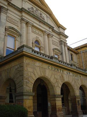 Neil R. Darrach - Image: Elgin County Court
