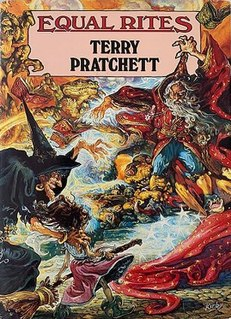 <i>Equal Rites</i> 1987 Discworld novel by Terry Pratchett