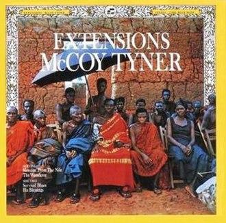 Extensions (McCoy Tyner album) - Image: Extensions (album)