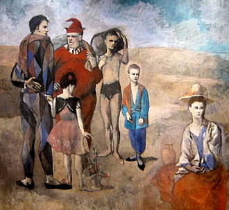 Duino Elegies - Rilke wrote his Fifth Elegy inspired by his memory of seeing Picasso's painting Les Saltimbanques (1905) in Paris several years earlier.