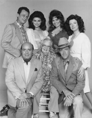 Filthy Rich (1982 TV series) - Image: Filthy Rich Cast