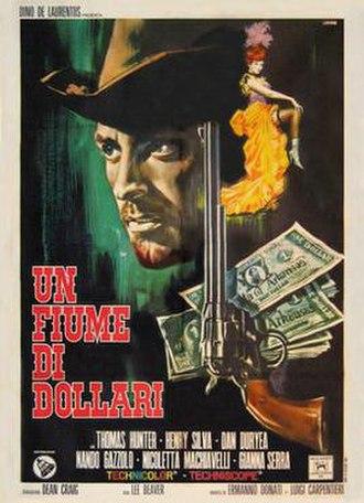 The Hills Run Red (1966 film) - Italian film poster