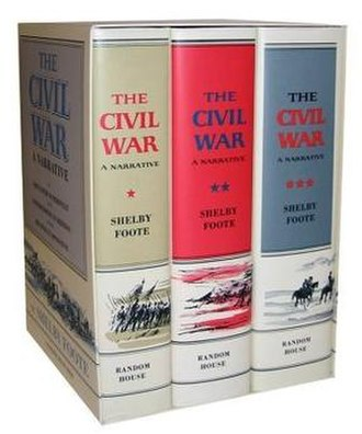 The Civil War: A Narrative - Volumes 1–3, hardcover