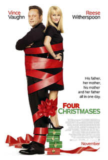 <i>Four Christmases</i> 2008 Christmas comedy film