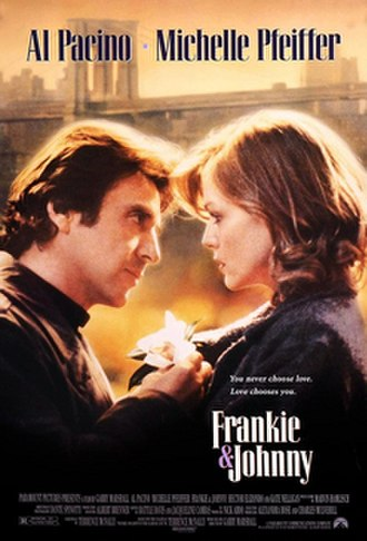 Frankie and Johnny (1991 film) - Theatrical release poster