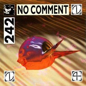 No Comment (Front 242 album) - Image: Front 242 No Comment Original Cover