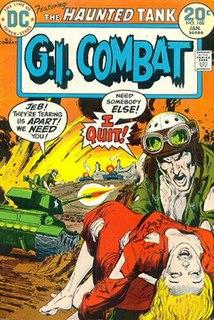 <i>G.I. Combat</i> American war comic (1952-87; 2012)