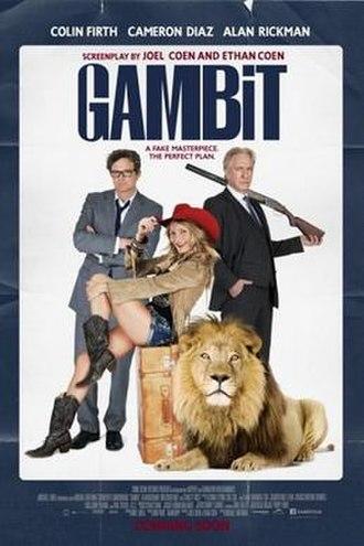 Gambit (2012 film) - Teaser poster