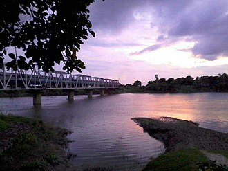 Gangarampur railway station - Image: Gangarampur Railway Bridge