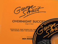 George Strait - Overnight Success single.png