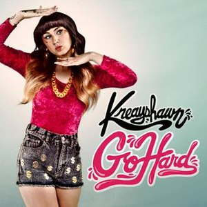 Go Hard (Kreayshawn song) - Image: Go Hard (La.La.La)