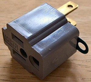Grounded plug adapter 2