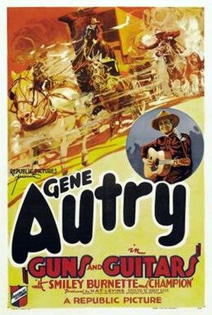 Guns and Guitars - Image: Guns and Guitars 1936 Poster