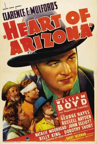 Heart of Arizona - Theatrical release poster