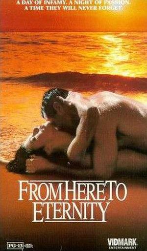 From Here to Eternity (miniseries) - VHS box art