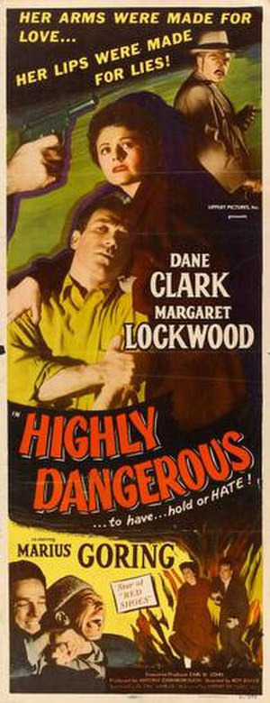 Highly Dangerous - Image: Highly Dangerous Film Poster