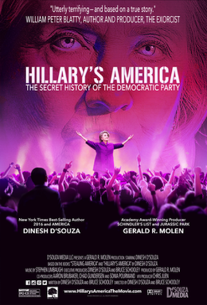 Hillary's America: The Secret History of the Democratic Party - Theatrical release poster