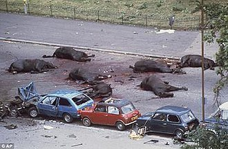 Hyde Park and Regent's Park bombings - Aftermath of the Hyde Park bombing which killed four soldiers