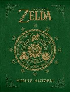 <i>The Legend of Zelda: Hyrule Historia</i> book by Nintendo