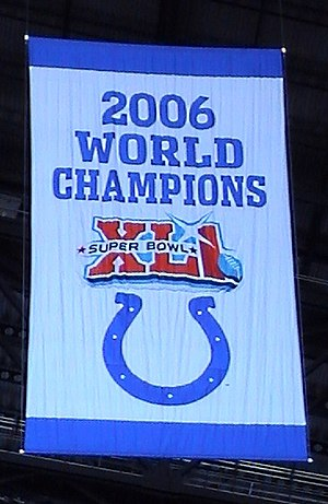 The Indianapolis Colt's 2006 World Champions b...