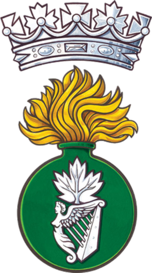 The Irish Fusiliers of Canada (The Vancouver Regiment) - Image: Irish Fusiliers of Canada badge