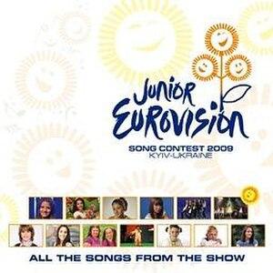 Junior Eurovision Song Contest 2009 - Image: JESC 2009 album cover