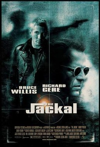 The Jackal (1997 film) - Theatrical release poster