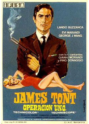 James Tont operazione U.N.O. - Original film poster