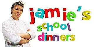 <i>Jamies School Dinners</i> television series