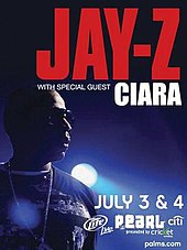 Jay z ciara live wikipedia jay z promotional tour photog associated album the blueprint 3 malvernweather Images