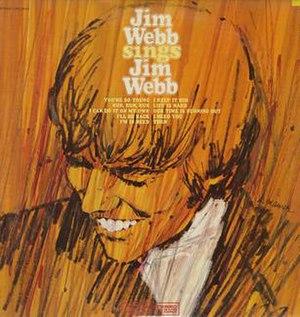 Jim Webb Sings Jim Webb - Image: Jimmy Webb Sings