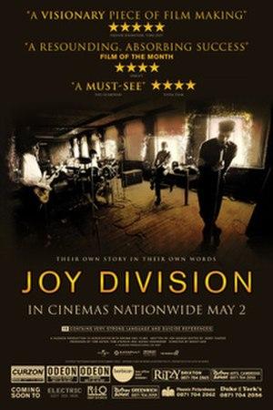 Joy Division (2007 film) - British release poster