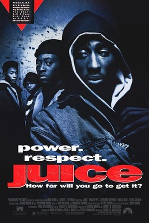 Juice (film) - Theatrical release poster